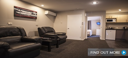 One Bedroom Deluxe Apartment, Arthurs Court Christchurch