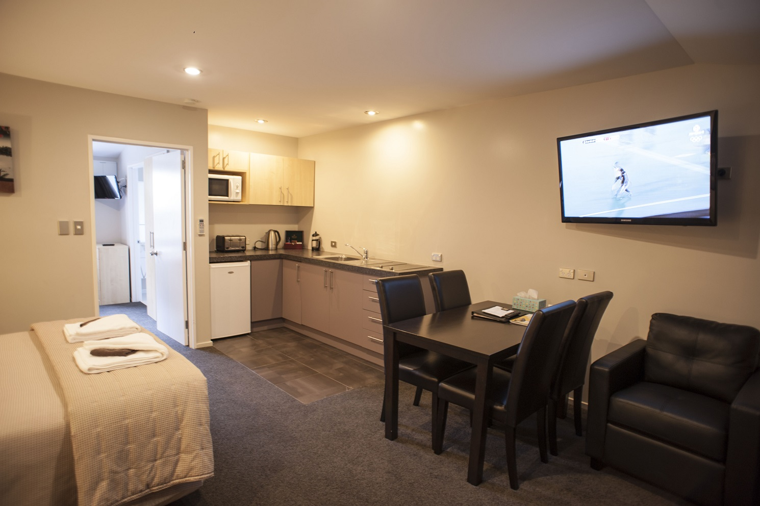 Christchurch luxury apartment qualmark 5 star 1 bedroom for I bedroom apartment
