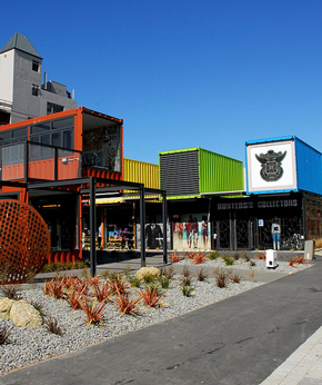 Re:Start Mall in Christchurch Central City